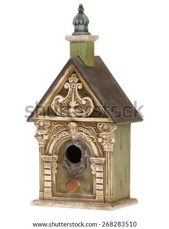 Bird House Ornate - stock photo