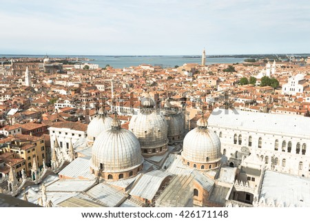 Bird View of Venice, Italy