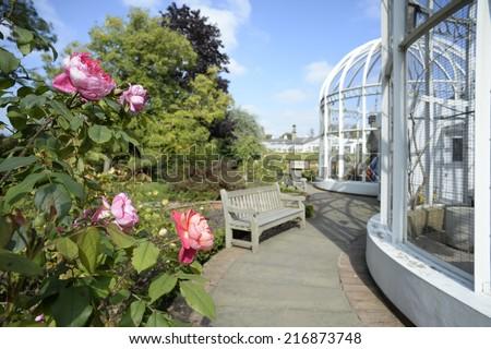 birmingham botanical gardens - stock photo
