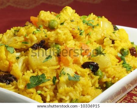 Biryani Rice - stock photo