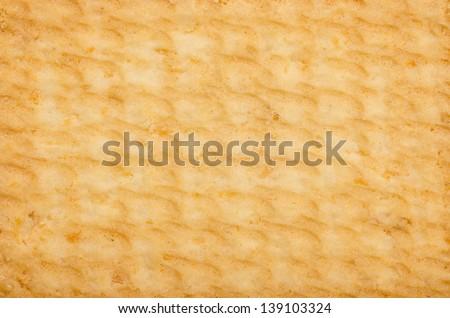 Biscuit Texture - stock photo