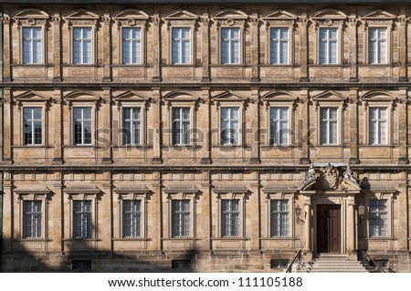 Bishop Residence (Neue Residenz) of Bamberg, Germany.