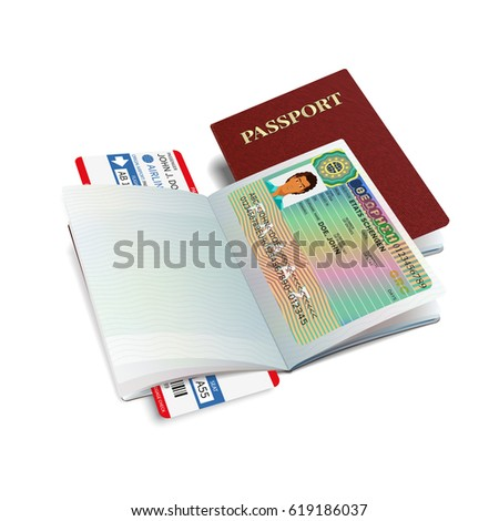 Greece sticker stock images royalty free images vectors bitmap international passport with greece visa sticker ccuart Choice Image