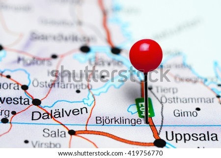 Skive Pinned On Map Denmark Stock Photo 402710953 Shutterstock