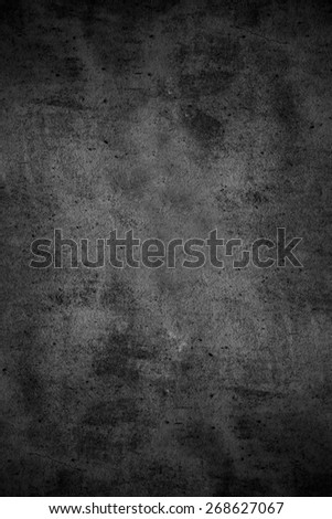 black abstract background or rough pattern grey texture
