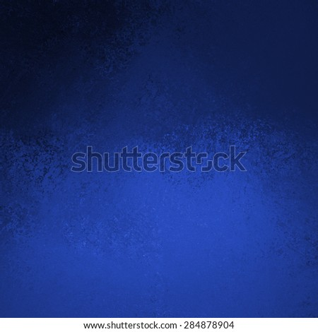 black and blue background with top border shadows and vintage grunge background texture - stock photo