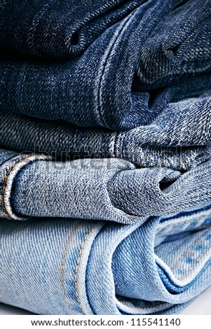 black and blue jeans  texture