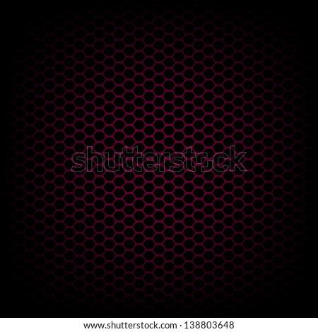Black and red carbon abstract geometric background. Raster version, vector file also available at my portfolio. - stock photo