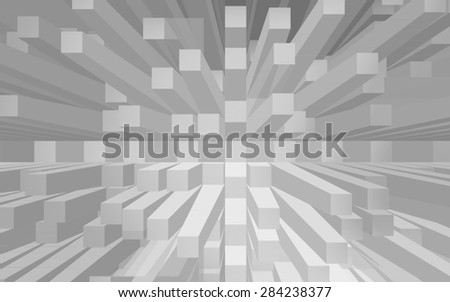 black and white abstract background with beautiful square