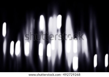 Black and white abstract of lighting background