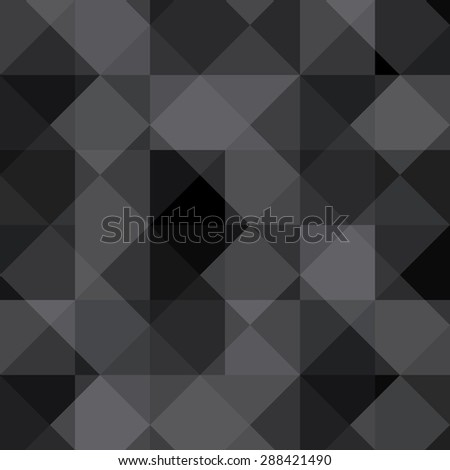 Black and White Abstract Psychedelic Art Background.  Illustration.