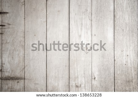 Black and white background of weathered painted wooden - stock photo