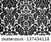 black and white baroque - stock photo