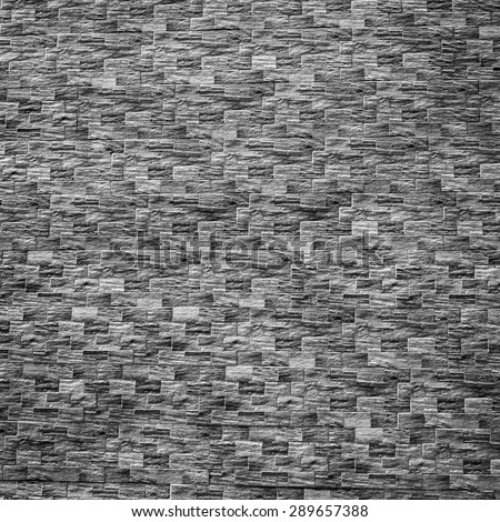 black and white brick wall background and texture