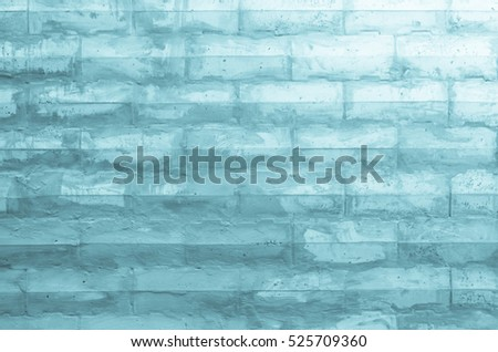 Black and white brick wall texture background / Wall texture background flooring interior rock stone old pattern clean concrete grid uneven bricks design stack. soft focus