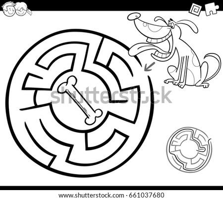 Cartoon Illustration Bad Dog Stock Vector 78275005 Shutterstock