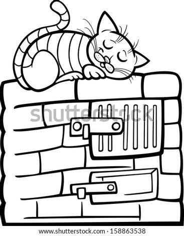 Cartoon Rucksack Stock Illustration 96180602 Shutterstock