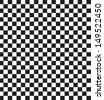 Black and white checkered pattern. - stock vector