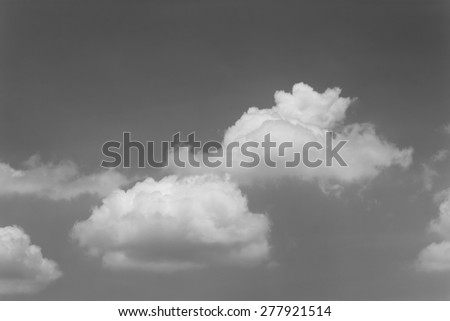 black and white clouds : smoke on sky