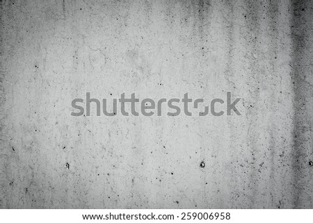 Black and white concrete grunge background wall dirty texture - stock photo