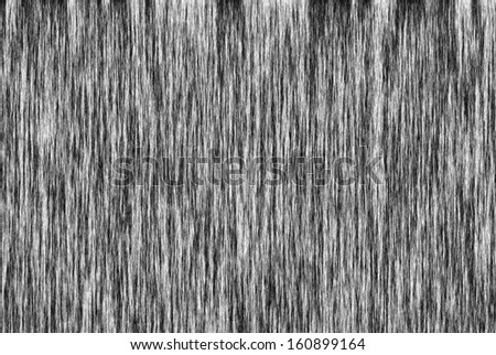 Black and White Fibers Background - stock photo