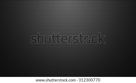 Black and white grid background.