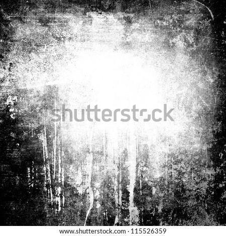 Black white grunge background 115526359 shutterstock black and white grunge background voltagebd Gallery