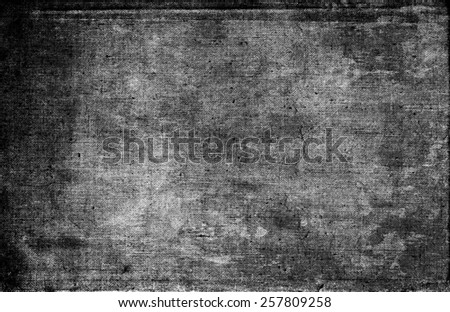 black and white grunge texture - stock photo