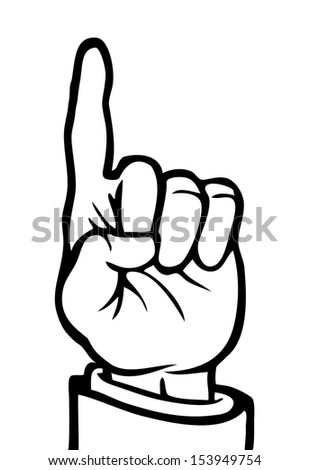 Stock Images similar to ID 68203918 - forefinger concept ...