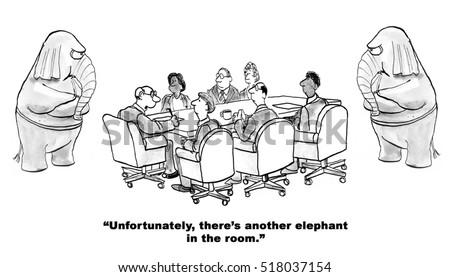 Elephant In The Room Banque d\'images, d\'images et d\'images ...