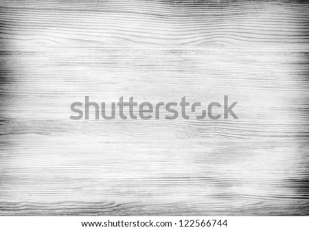 Black and white light wood texture - stock photo