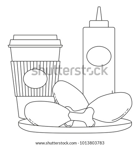 Chicken Food Drawing For Kids 21510 Loadtve