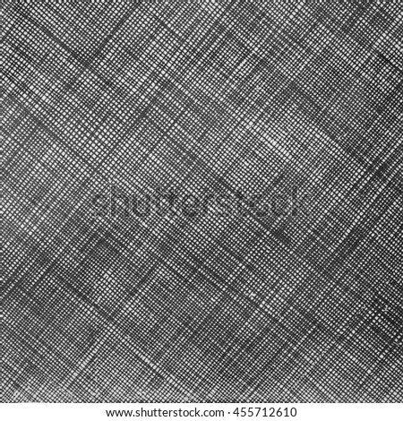 black and white line paper pattern - stock photo