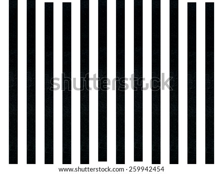Black and white linear tablecloth - stock photo