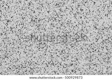 Black and white mineral granite background.