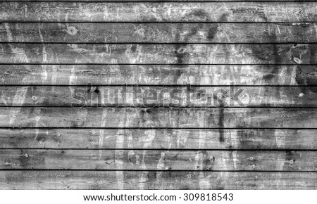 black and white old barn board, texture