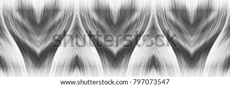 Black and white pattern for textile, ceramic tiles and design