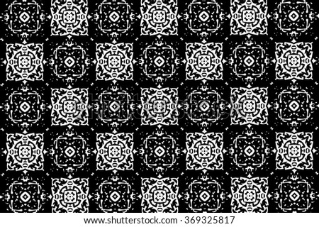 Black-and-white patterns. T