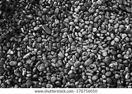 Black and white pebbles Background