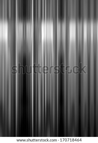 Black and white speed blur background with highlight - stock photo