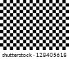 Black and White Squares - stock photo