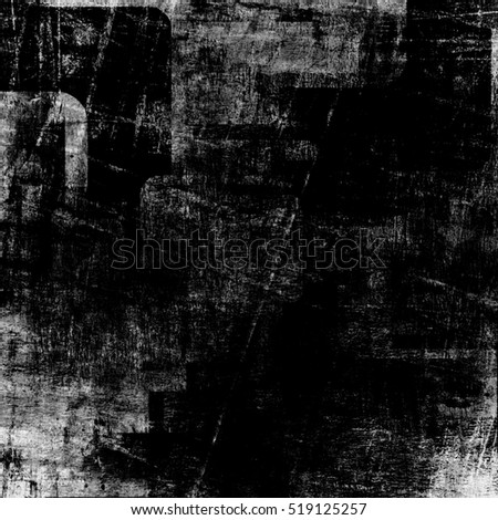 black and white squares on the grunge wall, abstract background