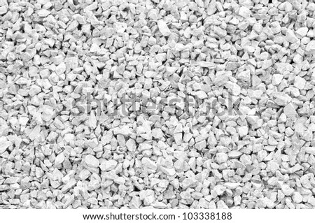 Black and white  stones texture - stock photo