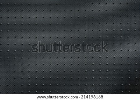black and white texture of car - stock photo