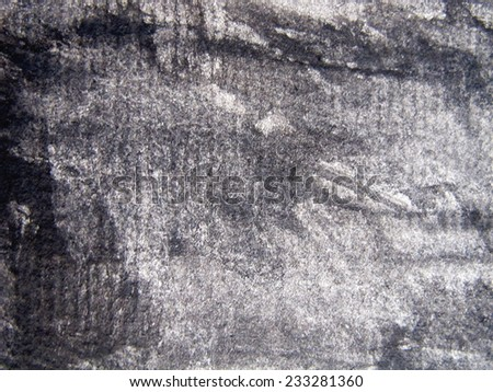 Black and white Watercolor Background 5 - stock photo