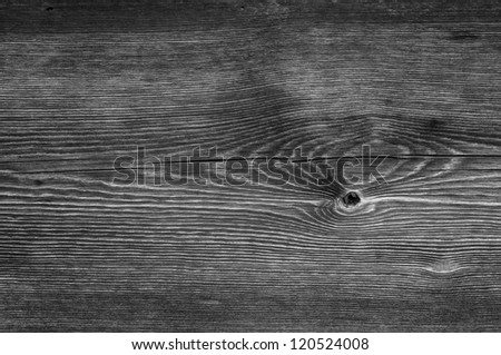 black and white wood texture - stock photo
