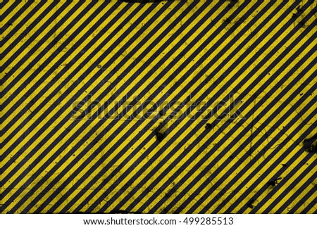 Black and yellow diagonal lines - warning lines - useful like grunge background