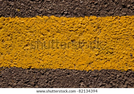 black and yellow urban asphalt background and texture
