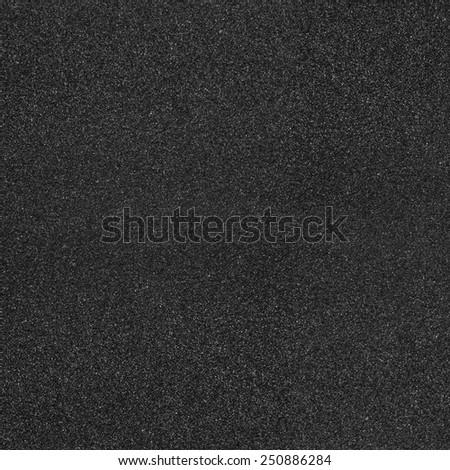 Black asphalt texture background - stock photo
