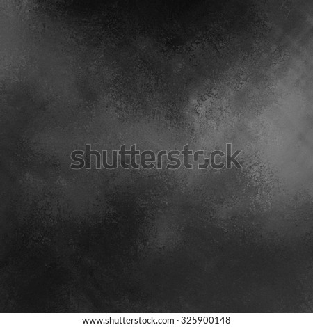 black background blur with grey splash or spotlight - stock photo